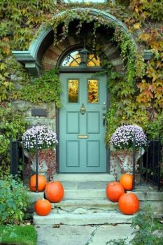 Pumpkin Entrance
