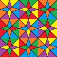 coloured stars 81