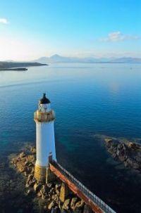 Eilean Bhan Lighthouse - Kyle of Lochalsh - Scotland