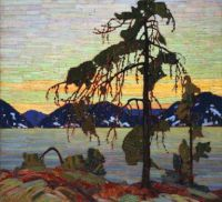 The Jack Pine by Tom Thompson