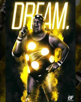 The American Dream Dusty Rhodes by southernscot21