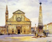 Henry Roderick Newman (American, 1833–1918), Santa Maria Novella