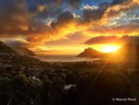 Sunset Over Capetown SA