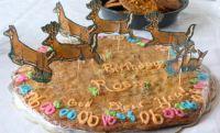 Happy 90th Birthday cbocolate Chip Cookie
