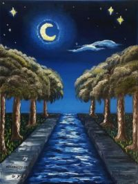 The Starry Canal ~ MELANIEJOY, difficult
