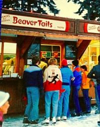 Ottawa specialty Hot Cinnamon Beaver Tails (flat pastries) Yumm