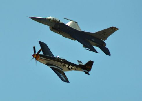 Old & New - Miramar Air Show