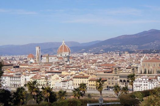 Rooftop view Florence Italy