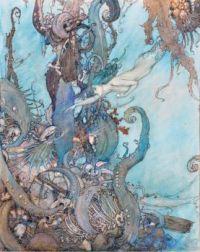 Edmund Dulac The little mermaid