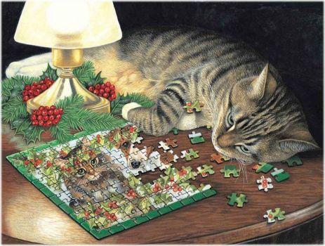 Piece-ful Slumbercat