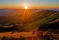 rolling hills sun