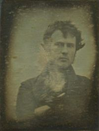 1839 The First Light Picture and Human Portrait Ever Taken [Oct,Nov Robert Cornelius