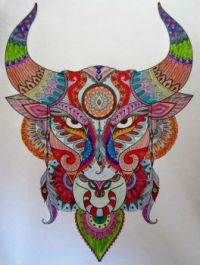 Devil - coloring book