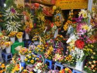 Flower market 2, Vietnam.