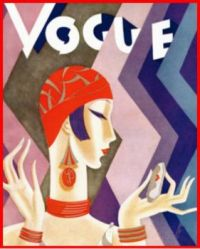 Vogue Cover July 1926 by Eduardo Garcia Benito