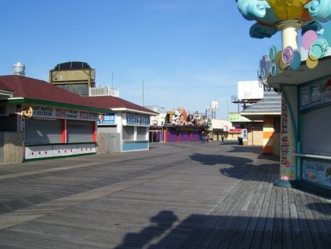 Cape May board walk