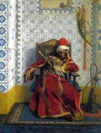 """Jean-Léon Gérôme, """"Markos Botsaris"""", 1874"""