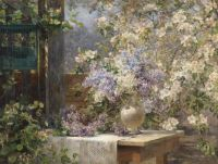In the Blossoming Bower by Marie Egner