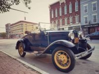 1931 Ford in older section of Geneva NY