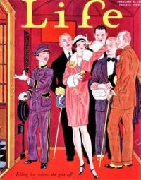 Themes Vintage illustrations/pictures - Life Magazine Cover