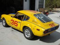 A very nicely prepared racing Triumph GT6..