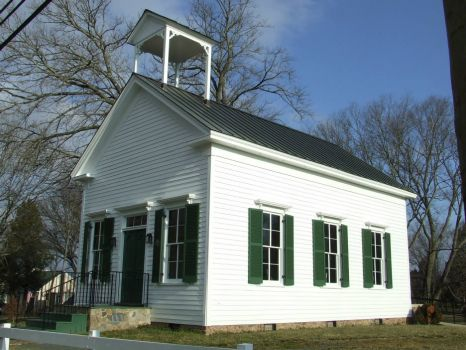 Virginia Old restored school house Circa 1890's