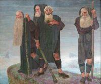 Karl Mediz (Austrian, 1868–1945), The Ice Men