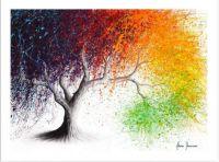 Rainbow Seasons Tree