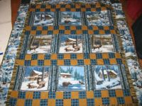 Flannel quilt kit Christmas present