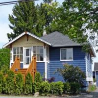 Little blue house in Vancouver, photo by judy_and_ed