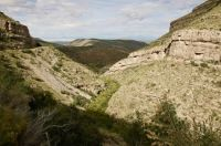 Mountains Landscape in the Lincoln National Forest - New Mexico