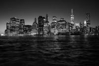 Manhattan Skyline Night - N.Y.