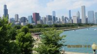 Chicago in summer time