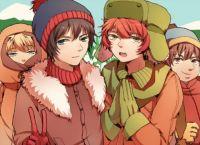 Anime South Park
