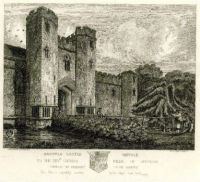 Wingfield Castle by Henry Davy