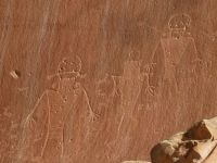 Petroglyphs in Capitol Reef National Park, Utah