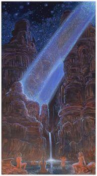Star Bathers ~ Shonto Begay (Navajo)