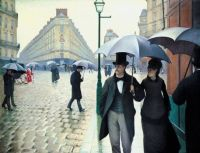 Gustave Caillebotte: Paris Street: Rainy Day
