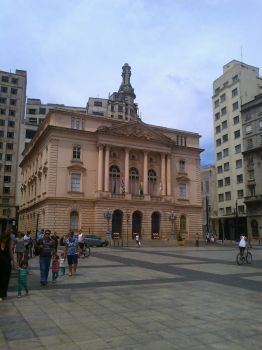 Old Justice Hall - Sao Paulo Downtown