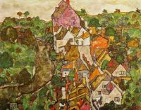 Egon Schiele_ the village