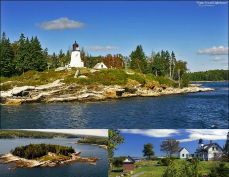 Maine Lighthouses: Burnt Island, Boothbay Harbor