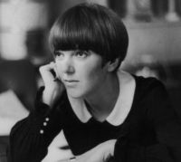 Theme: Fashion, Mary Quant, inventor of the mini skirt