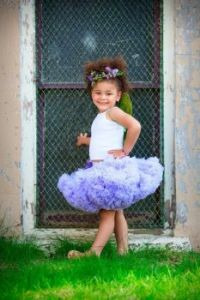 LITTLE PRINCESS IN PURPLE...