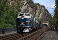 Baltimore and Ohio train Harpers Ferry Wv