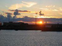 Sunset, Willemstad, Denmark, August, 2005