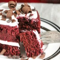 Red Velvet Microwave Cake