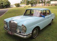 """Mercedes-Benz """"220 S"""" ( W111 Sedan ) - 1962"""
