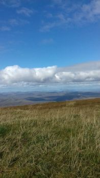Ben Wyvis. near Garve, Munro mountain over 914 mts view from the summit