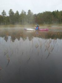 A Chilly, Foggy, Paddle