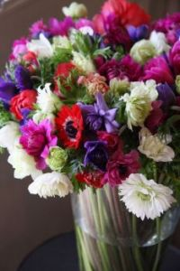 Happiness is....Gorgeous Colourful Flower Mix.